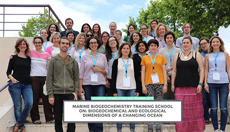 Marine Biogeochemistry Training School on Biogeochemical and ecological dimensions of a changing ocean